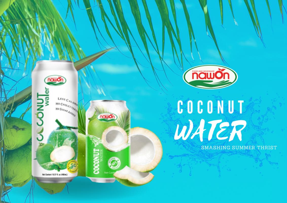coconut water smashing