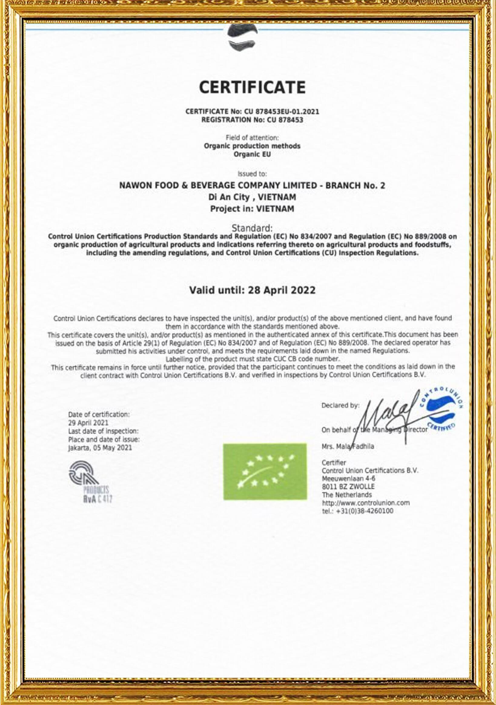 eu-organic-certificate